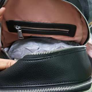 Coach bagpack leather