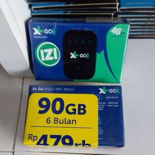 Xl go mobile wifi 4G