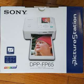 Sony DPP-FP65 Portable Digital Photo Printer (Brand New!)