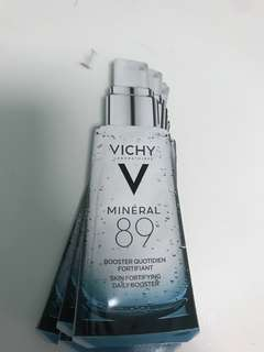 Vichy Mineral 89 travel sample