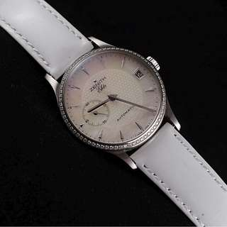 Zenith Class Elite Automatic Diamond Ladies Pearl DIal