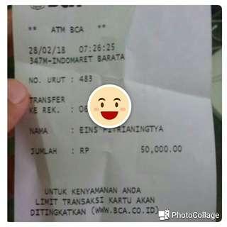 Transaksi again..alhamdulillah