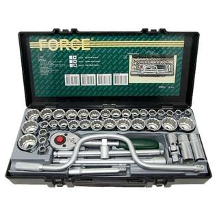 "Force 41 Pcs 1/2"" Socket Set (4412) Made In Taiwan"