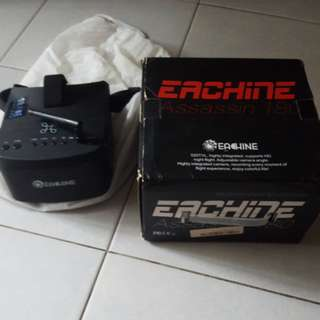 Eachine Assasin 180 Racing Drone (With Eachine FPV Goggles)