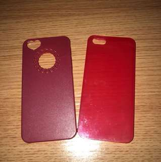 iPhone 5/5s Red Cases (ALL FOR 50! 25 each!)