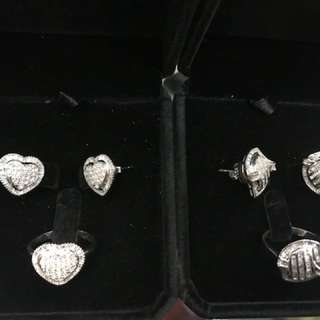 Set Diamonds 14k white gold