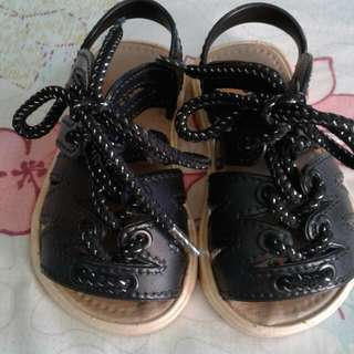 Black Sandals for baby