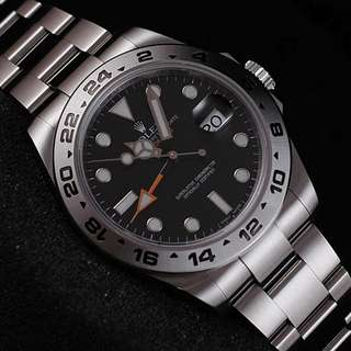 Rolex Explorer II orange-GMT BlackDial 42mm 216570