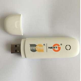 USB Mobile Broadband Stick Unlocked ZTE MF190 3G GSM