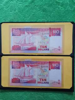 Singapore Notes - Cutting Error