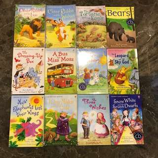 Usborne First Reading (12 books)