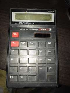 Citizen old school Calculator