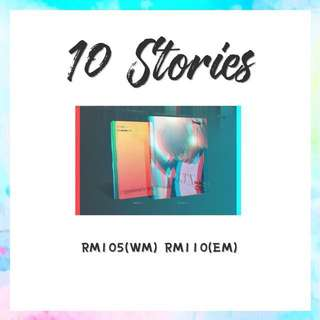 Preorder - Sunggyu 10 Stories