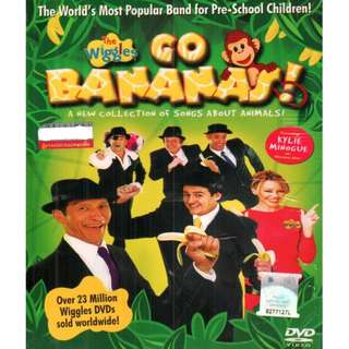 The Wiggles Go Bananas A New Collection Of Songs About Animals DVD