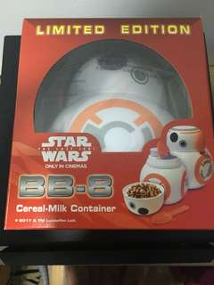 *NEW* Nestle Star Wars BB8 container [last]