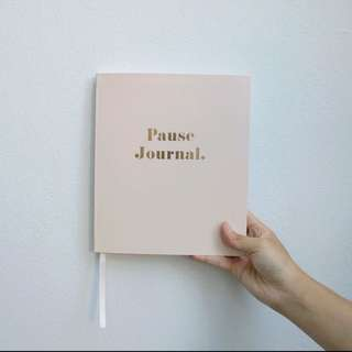 kikki.K pink pause journal