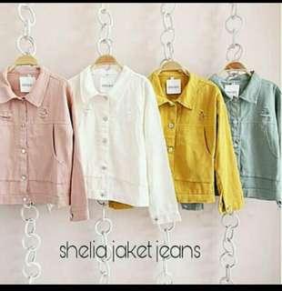 Shelia jaket jeans