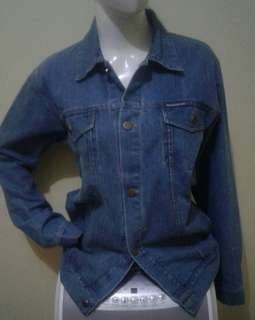 Denim Jacket Blue Vivid
