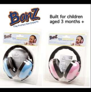 Baby Banz Earmuffs for baby (3-18months old)