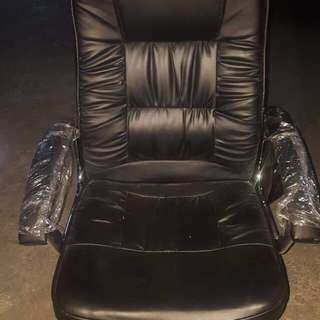 Executive Office Chair - leather seat