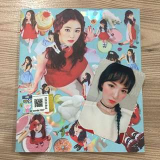 Red Velvet - ROOKIE ALBUM with Wendy photocard