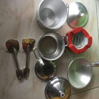 REAL COOKERY SET FOR KIDS
