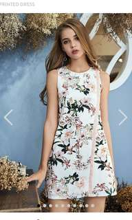 TCL REMY FLORAL PRINTED DRESS