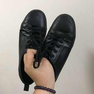 Leather H&M Shoes Black 41