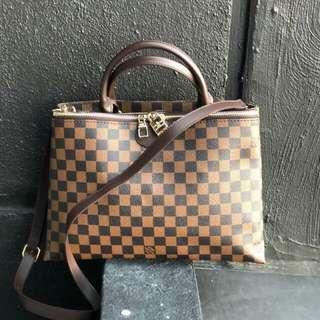 Lv handbag set 2in1 wallet