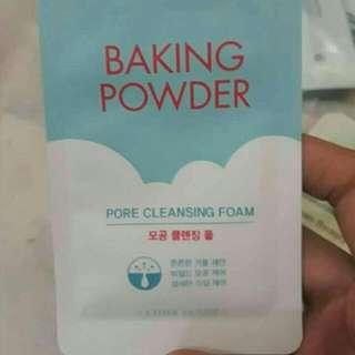 Etude House Baking Powder Pore Cleansing Foam Samplers Sachet