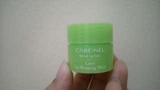 Carenel Lime Lip Sleeping Mask