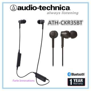 Audio-Technica ATH-CKR35BT Sound Reality Wireless In-Ear Headphones