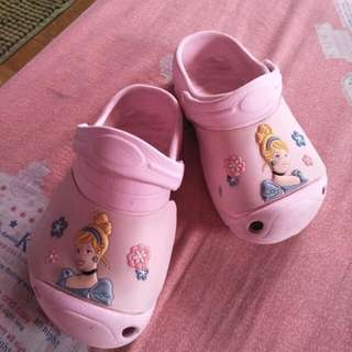 Cinderella Disney Slippers Crocs inspired