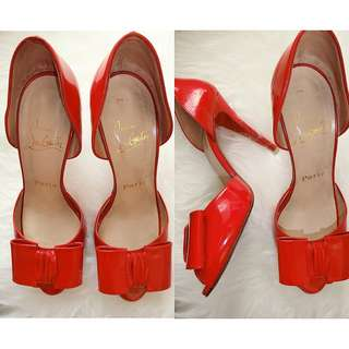 authentic louboutin shoes pita 37