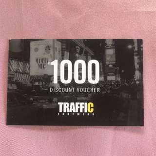 Traffic Footwear Discount Voucher