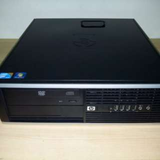 HP Compaq 8000 Elite Small Form Factor PC Intel Core 2 Duo E8400 3.0Ghz 4GB 250GB HDD