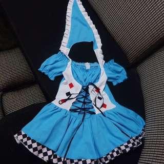 Mini Alice in Wonderland Costume