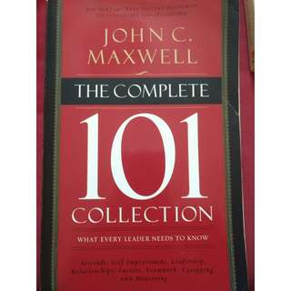 The Complete 101 Collection (What Every Leader Needs to Know) by John C. Maxwell