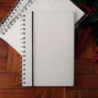 MUJI Style A5 Dotted Notebook with Rope
