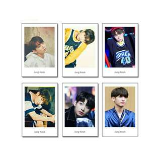 BTS Unofficial Polaroid Style Photocards (Jungkook & SG18)