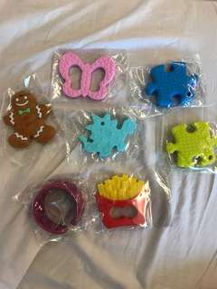Silicone teether bracelet baby sore gums soother teething toy