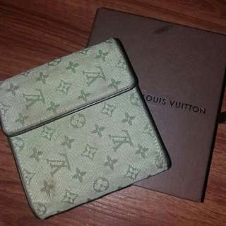 Authentic lv minilin wallet
