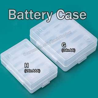 Battery Case - 24x AAA and 24x AA storage box.