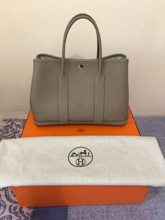 Hermes Garden Party 30 Gris Tourterelle