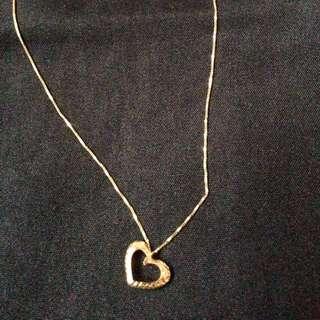 Necklace japan gold 18k..