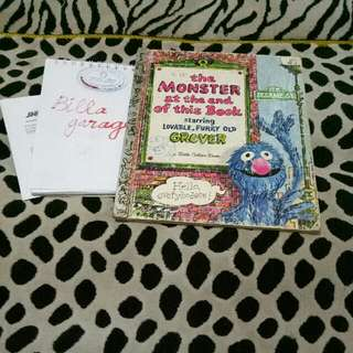 The Monster At The End Of This Book38- Sesame Street By Little Golden Book