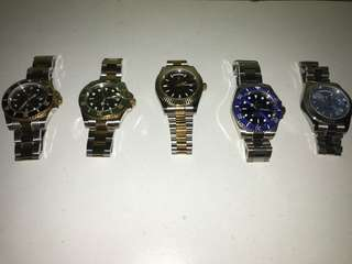 5 Copy Original Rolex Watches From London!