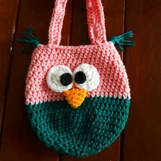 Cute owl bag for girls