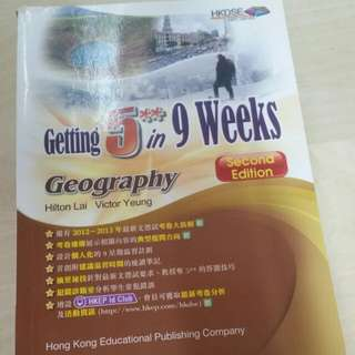 getting 5** in 9 weeks geography