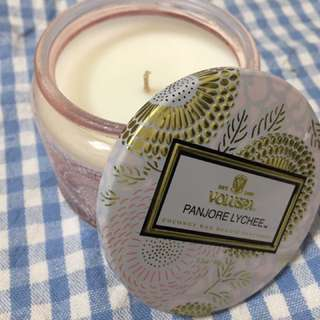 Voluspa candle (panjore lychee)